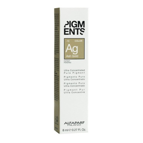 Alfaparf Pigments Color Ash Gold - Biondi / Castano Chiari 8 ml