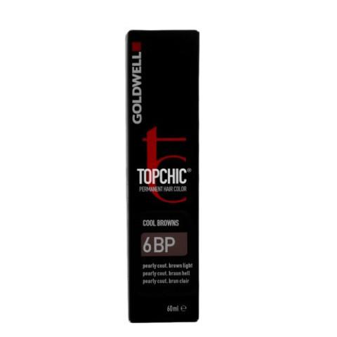 6BP CASTANO CHIARO PERLA COUTURE GOLDWELL TOPCHIC COOL BROWNS TB 60ML -