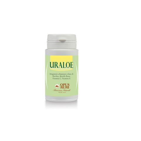Uraloe Opus Ruri Integratore alimentare a base di: Aloe Vera, Mirtillo Rosso, Vitamina C, Vitamina E